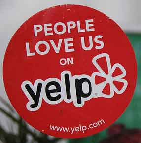 Yelp social media networking